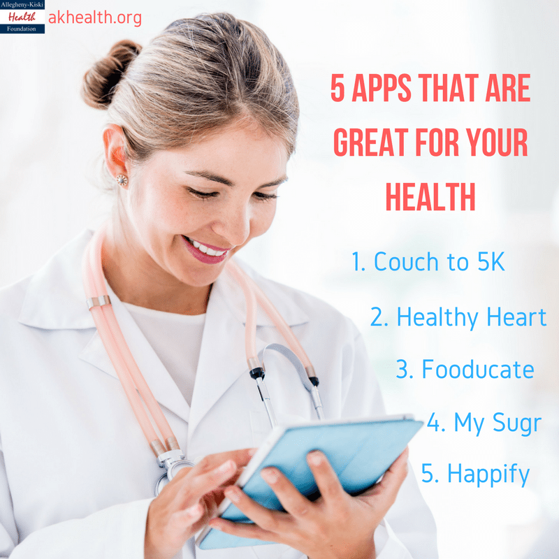 5 Health Apps to Try